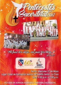 Pentecostes sacerdotal afiche