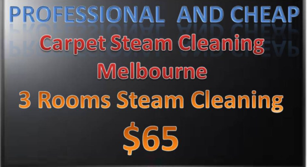 $59 Carpet Steam Cleaning Melbourne