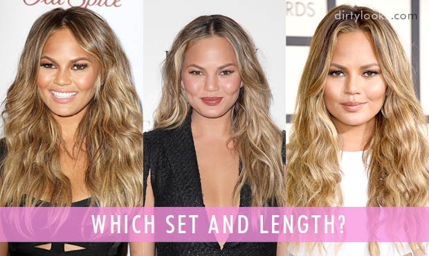 How-To-Get-Chrissy-Teigen's-Hair-Using-Hair-Extensions-Which-Set-And-Length