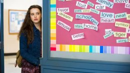 """This image released by Netflix shows Katherine Langford in a scene from the series, """"13 Reasons Why,"""" about a teenager who commits suicide. (AP)"""