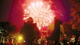 Many area communities have scheduled fireworks and more in celebration of Independence Day. (Photo by Richard Sayer)