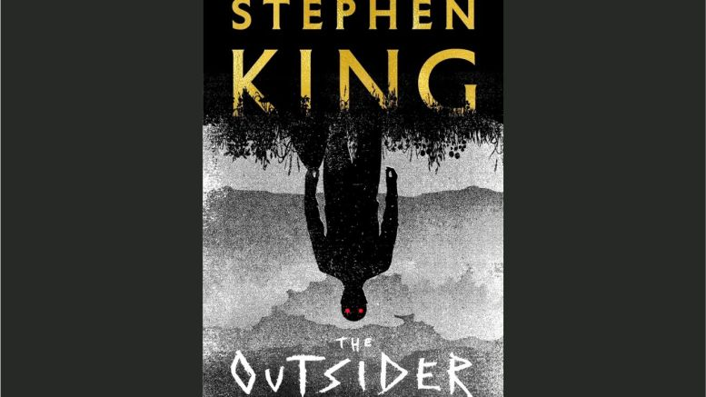 """This cover image released by Scribner shows """"The Outsider,"""" a novel by Stephen King. (AP)"""