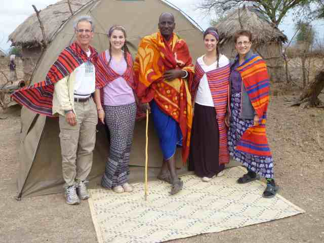 family volunteer vacations Tanzania