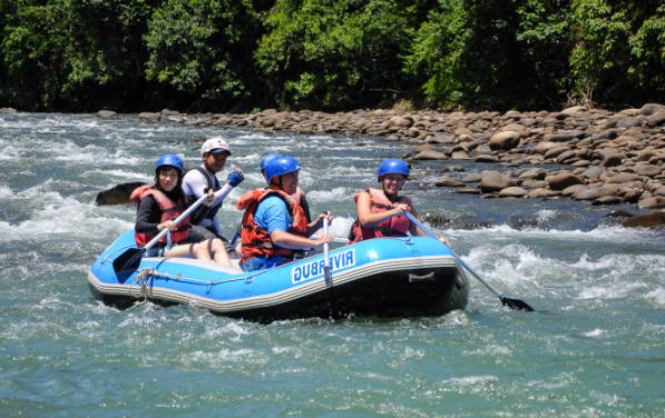 Things to do in Costa Rica- Rafting