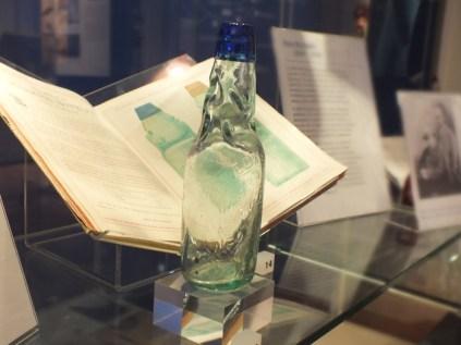 Decorative glas bottle