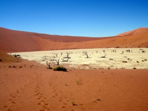 Dead Vlei in Namibia, Africa