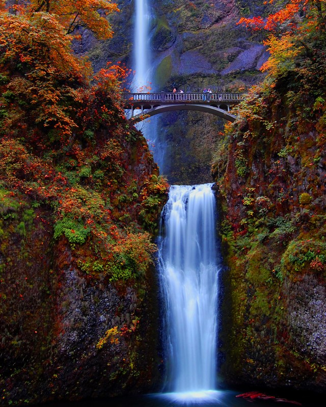 Multnomah Falls, one of the most beautiful places in the world