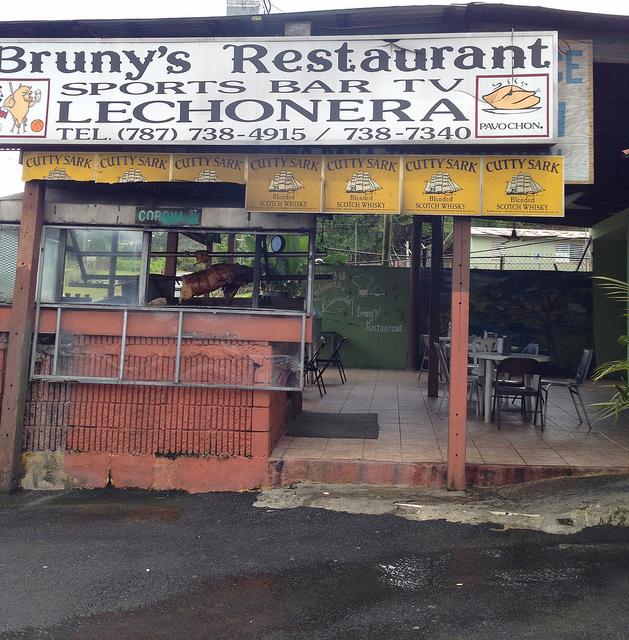 Bruny's Lechonera on Puerto Rico's Pork Highway