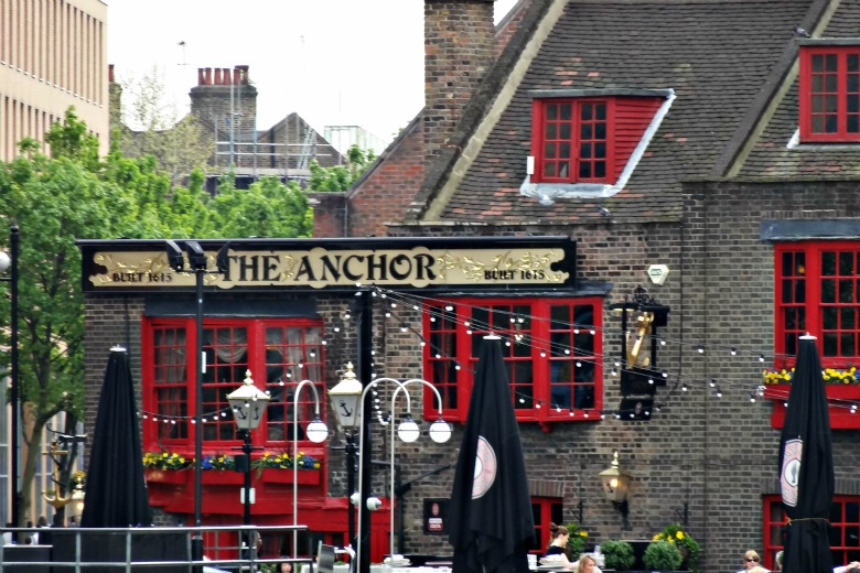 The Anchor Bar, where Shakespeare went for beers