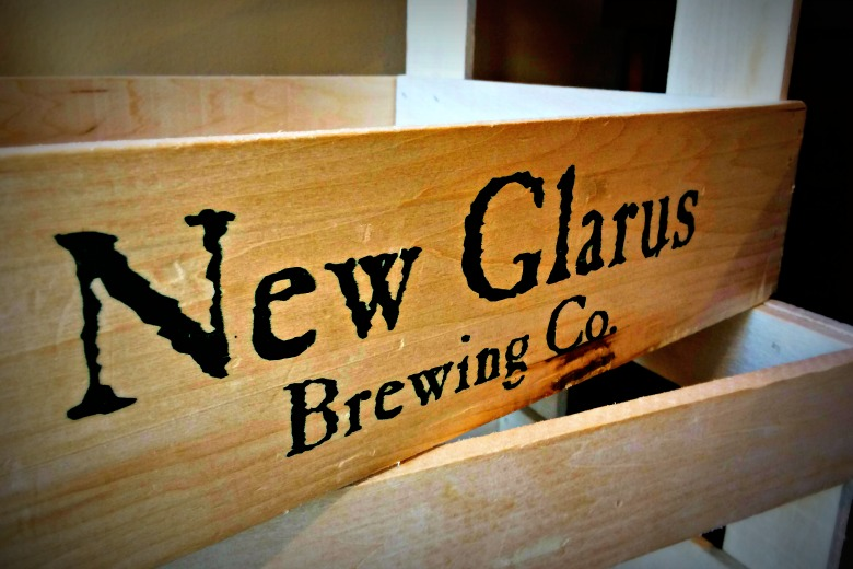 New Glarus - delicious local beer!
