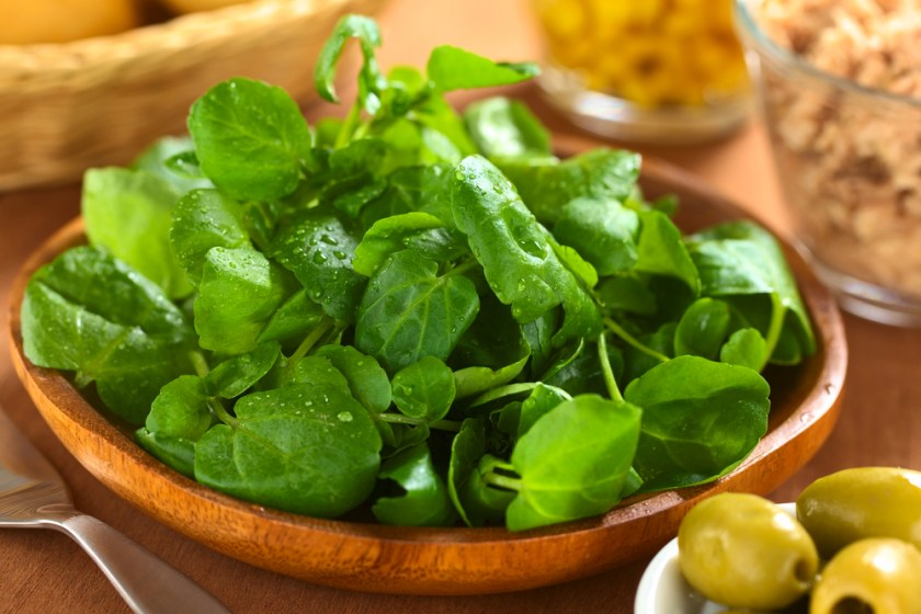 watercress - 7 Spring Fruits & Vegetables
