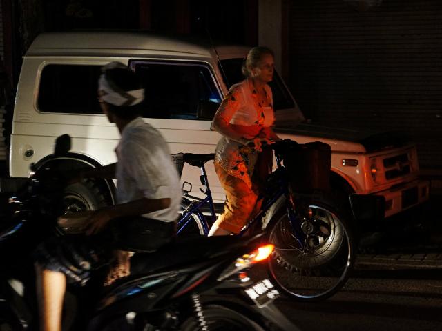 travel indonesia road trip bali at night
