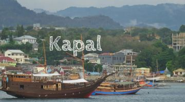 Indonesian Language Kapal