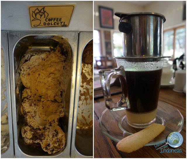 tasty gelato in Jogja