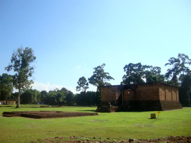 Temple complex outside Java
