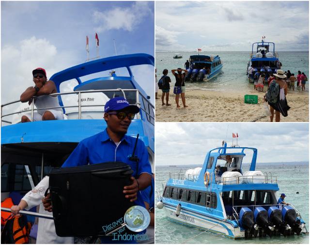 equator fast cruise boat to lembongan
