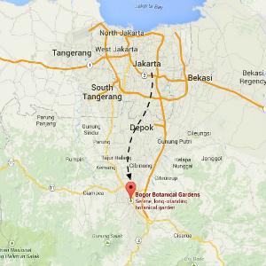 map bogor