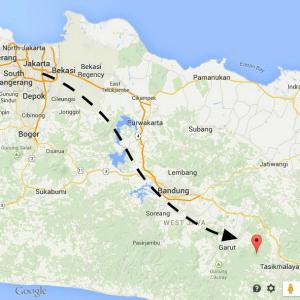 map galunggung