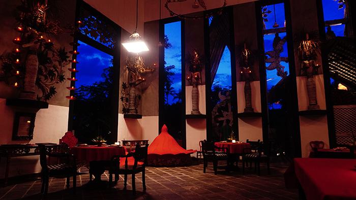 interior of Gedong Gandrung