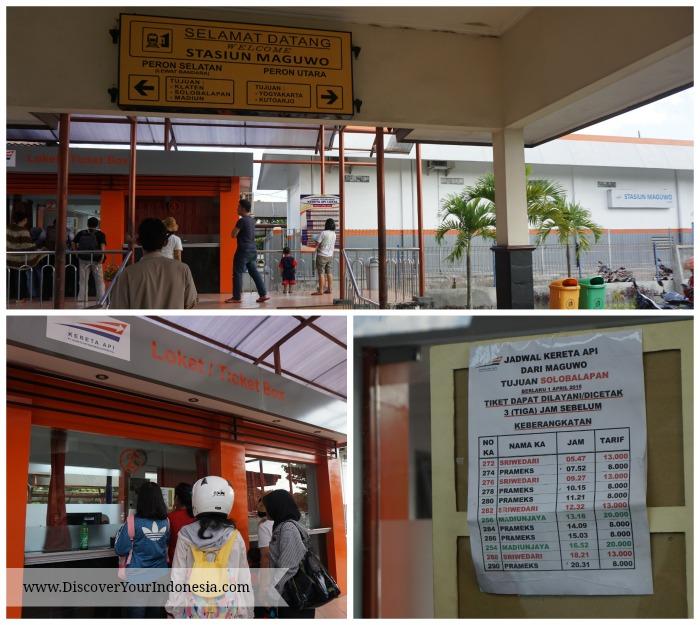 Maguwo train station at Yogyakarta Airport