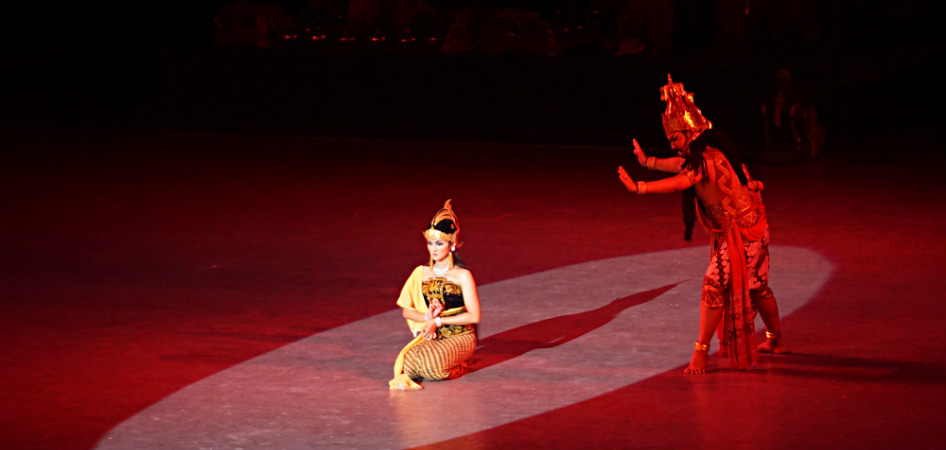 Ramayana Ballet at prambanan