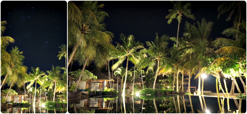 pool at night candidasa