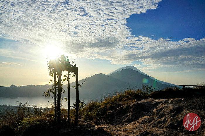 Trekking Mount Batur view