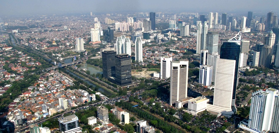 Jakarta from above
