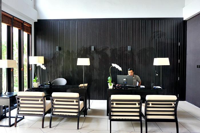 lobby area of Santoo Ubud