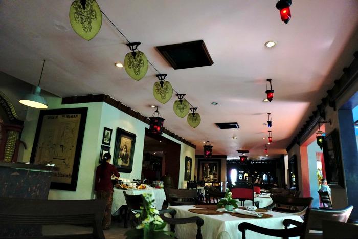 Restaurant at Tugu Hotel Malang