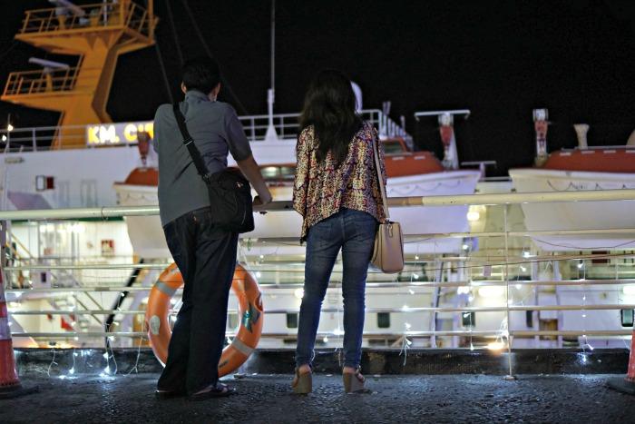 Activity in Surabaya North Quay