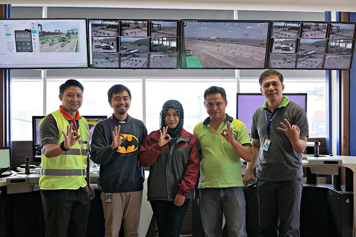 Pelindo 3 crew