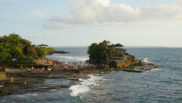 Tanah Lot from Canggu