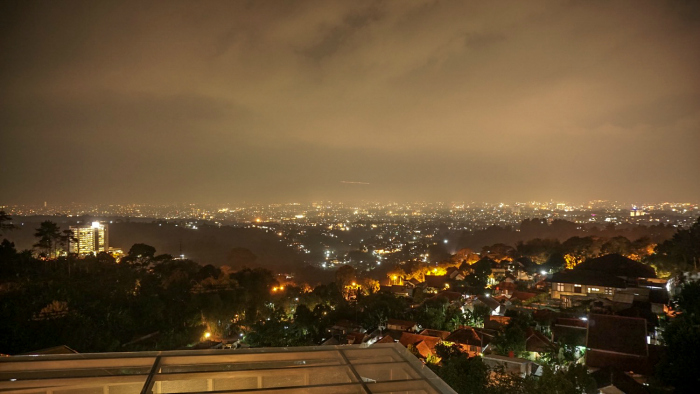 view-of-bandung-at-night