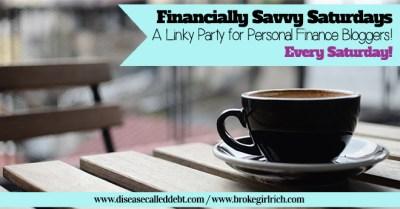 Financially Savvy Saturdays #127 - Disease called Debt