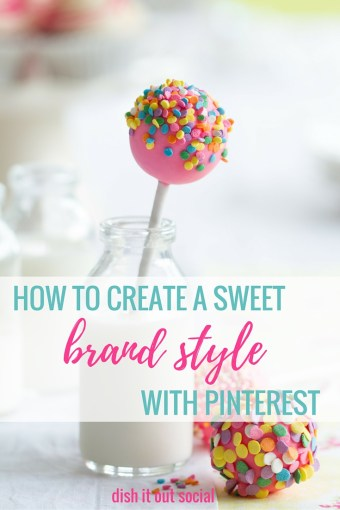Click through to learn how to create a sweet brand style board with Pinterest.