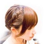 結婚式の髪型【ミディアムヘアーの編み込みは自分で出来る!】意外と簡単!