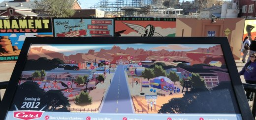 Cars Land Construction Wall 2