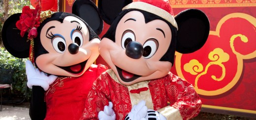 Lunar New Year Mickey And Minnie Mouse Disneyland Resort