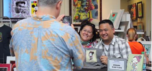 Jerrod Maruyama Happiest Hipster On Earth Signing Wonderground Gallery Downtown Disney California
