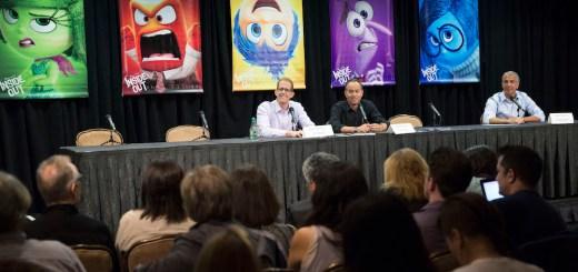 Disney Pixar Inside Out Press Conference Disneyexaminer Jonas Rivera Pete Docter