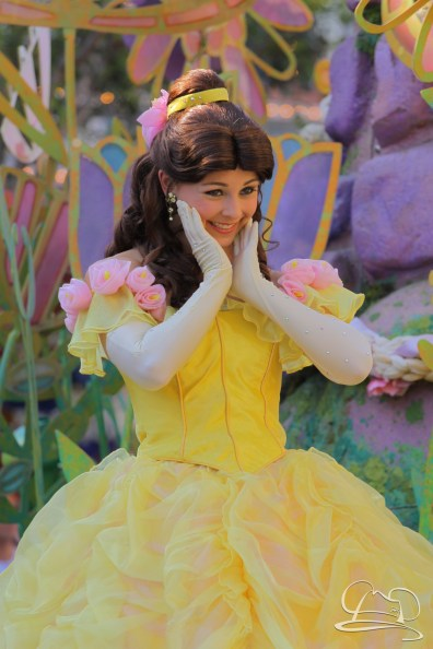 Belle in Mickey's Soundsational Parade.