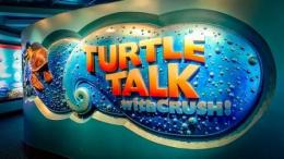 turtle talk with crush epcot