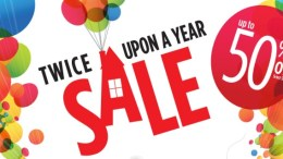 Disney store twice upon a year sale 2016