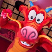 Mushu and Mulan to Appear Together at Disneyland