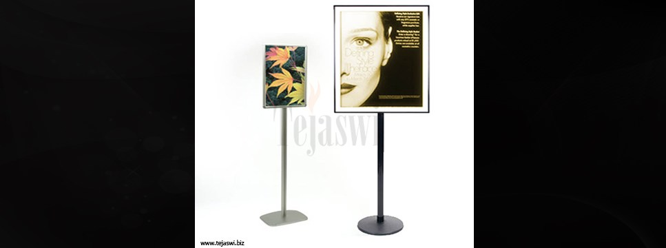 Poster stand