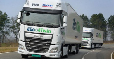 Truck Convoy Drives Itself Across Europe