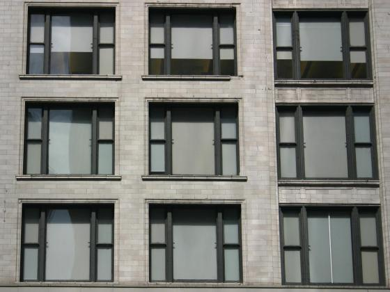 English: Chicago School window grid, Chicago, ...