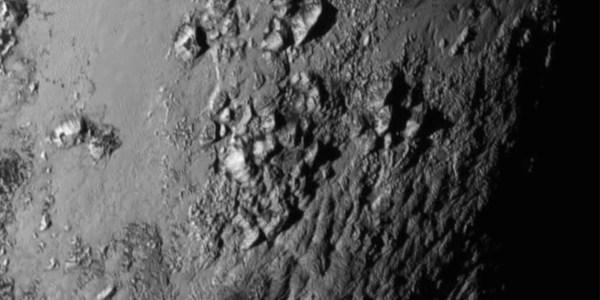 Pluto's Limb