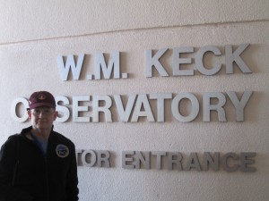 I was here - Mike at the Keck